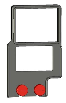"Picture of Z-Finder 3"" Mounting Frame for Small DSLR Bodies with Battery Grips"