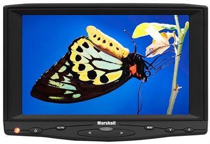Immagine di 7' TFT LCD monitor s HDMI vstupem a s adaptérem pro Canon BP511 baterii