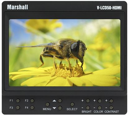 """Bild von 5"""" Small 800 x 480 Camera-Top / Portable Field Monitor with HDMI"""