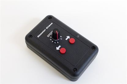 Picture of elektraDRIVE BASIC Controller (speed adjustment only. NOT compatible with Revolution Head)