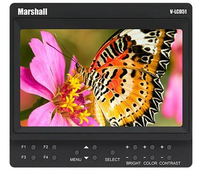 """Bild von V-LCD51 5"""" Small 800 x 480 Camera-Top / Portable Field Monitor with HDMI"""