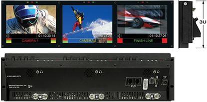 Afbeelding van V-R653-IMD-TE Triple 6.5' HD Rack Mountable LCD with built in IMD Function
