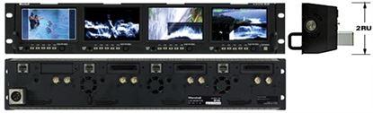 Εικόνα της OR-434 Quad 4.3' Rack Mount Monitor