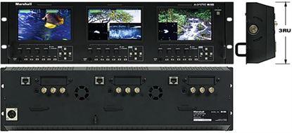 Afbeelding van OR-503 Triple 5' Rack Mount Monitor