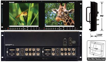 Afbeelding van V-R842DP-AFHD Dual 8.4' High Resolution HD monitor set with Advanced Features
