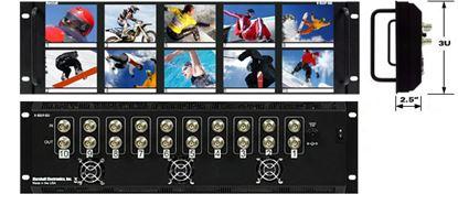 Afbeelding van V-R35P-SDI 3.5'X10 LCD Rack Mt. w/SDI Loop Thru