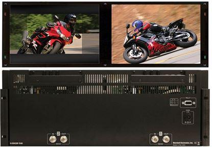 Afbeelding van V-R1042DP-TE4U Dual 10.4' High Def 1024x768 Monitor Set with HDSDI inputs, TE Line, 4RU