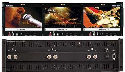 Image de V-R653P-HDSDI Triple 6.5' HD Rack Mountable LCD with HDSDI/SD input
