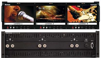 Afbeelding van V-R653P-HDSDI Triple 6.5' HD Rack Mountable LCD with HDSDI/SD input