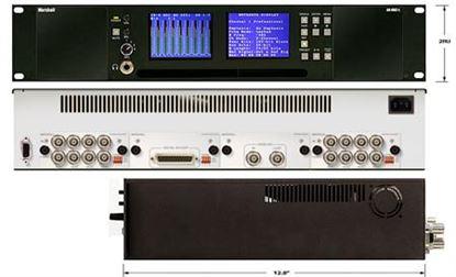 Image de AR-DM2-L 16 Channel Digital Audio Monitor-2RU Mainframe with Dual High-Resolution Displays