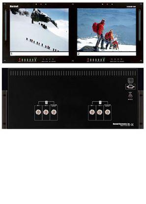 Afbeelding van V-R102DP-2SDI Dual 10.4' LCD Rack Mount Panel with 2 SDI Inputs per panel