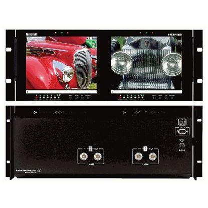 Afbeelding van V-R82DP-HDSDI Dual 8.4' LCD Rack Mount Panel with HDSDI Input