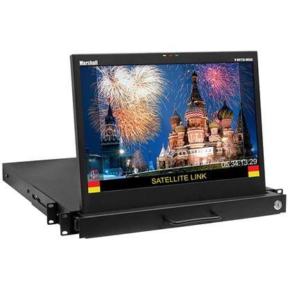 Afbeelding van V-RD171X-IMD-HDSDI 17' Native HD Resolution Rack Drawer LCD Rack Mount Monitor with IMD Function