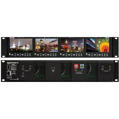 Afbeelding van V-MD434 Four 4.3' Wide Screen Rack Unit with no input Modules