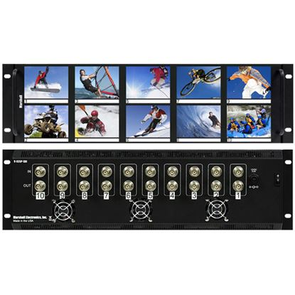 Image de V-R35P 3.5'X10 LCD Rack Mt. NTSC/PAL