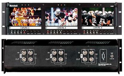 Afbeelding van V-R63P Triple 5.8' LCD Rack Mount Panel