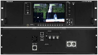 Afbeelding van OR-701A Single 7' Full Featured 3RU Rack Mount Monitor with Audio Speakers and Balanced +4dBu line outputs