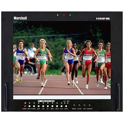 Picture of V-R104DP-HDA Stand alone 10.4' LCD Monitor with HDA + DVI/VGA inputs