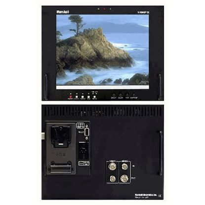 Picture of V-R104DP-2C Stand alone 10.4' LCD Monitor with 2 composite video inputs