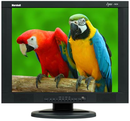 Изображение M-LYNX-19-CM 19' A/V LCD Monitor with 2x Composite, Component, S-Video, VGA, DVI, and 2x Audio inputs with ceiling mount