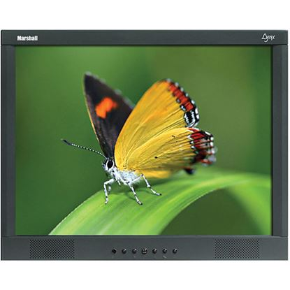 Immagine di M-LYNX-17-WM 17' A/V LCD Monitor with 2x Composite, Component, S-Video, VGA, DVI, and 2x Audio inputs with wall mount
