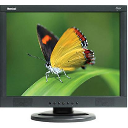 Immagine di M-LYNX-17 17' A/V LCD Monitor with 2x Composite, Component, S-Video, VGA, DVI, and 2x Audio inputs